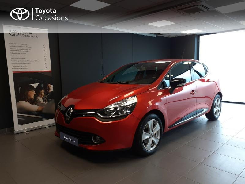Renault Clio 1.2 TCe 120ch energy Intens EDC Euro6 2015 Essence rouge Occasion à vendre