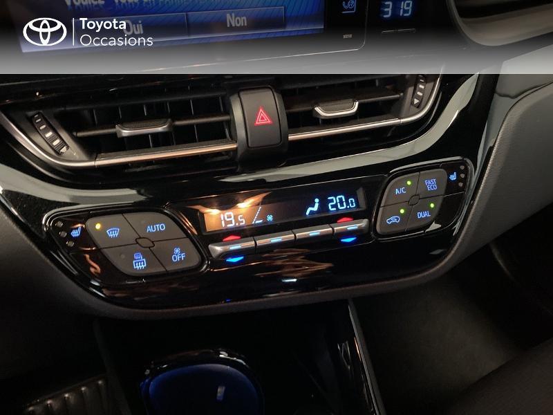 Photo 14 de l'offre de TOYOTA C-HR 122h Edition 2WD E-CVT RC18 à 20590€ chez Altis - Toyota Lorient