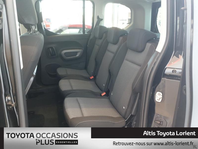 Photo 14 de l'offre de TOYOTA ProAce City Verso Medium 1.5 100 D-4D Design à 29490€ chez Altis - Toyota Lorient