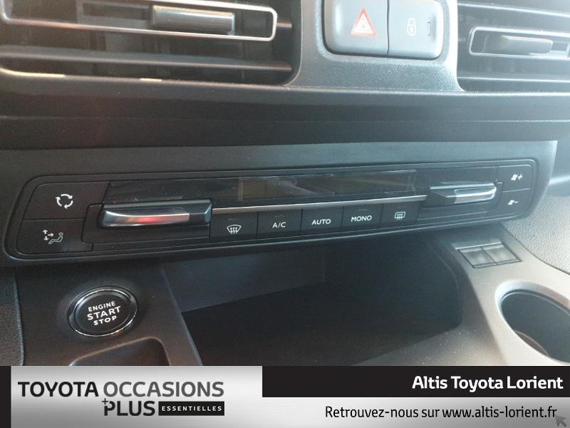 Photo 12 de l'offre de TOYOTA ProAce City Verso Medium 1.5 100 D-4D Design à 29490€ chez Altis - Toyota Lorient