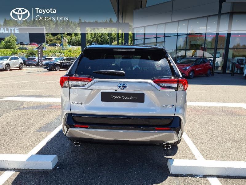 Photo 4 de l'offre de TOYOTA RAV4 Hybride 218ch Collection 2WD MY21 à 44325€ chez Altis - Toyota Lorient