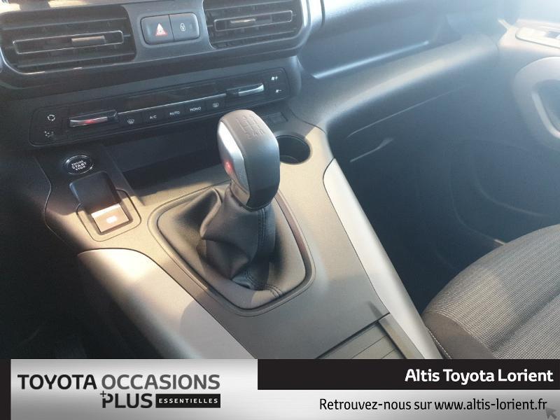 Photo 16 de l'offre de TOYOTA ProAce City Verso Medium 1.5 100 D-4D Design à 29490€ chez Altis - Toyota Lorient