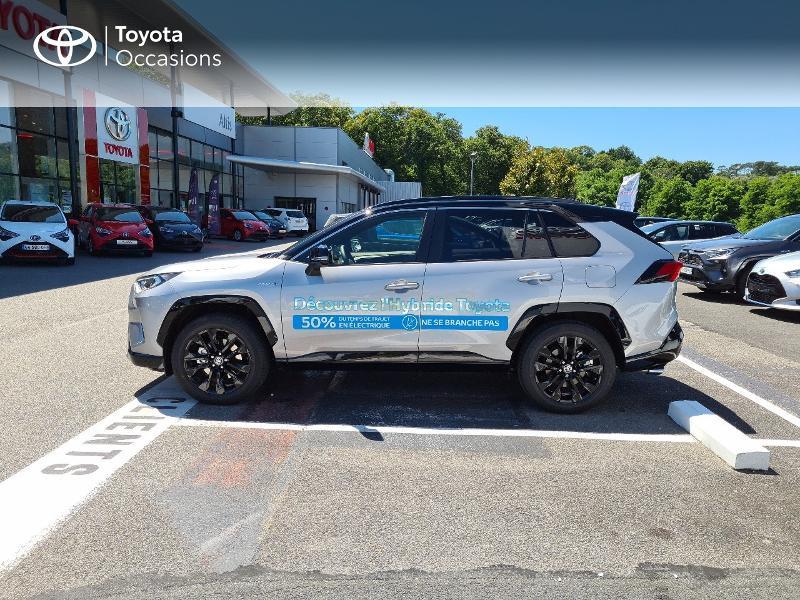 Photo 3 de l'offre de TOYOTA RAV4 Hybride 218ch Collection 2WD MY21 à 44325€ chez Altis - Toyota Lorient
