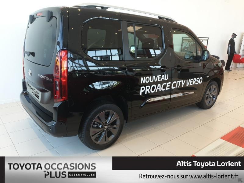 Photo 2 de l'offre de TOYOTA ProAce City Verso Medium 1.5 100 D-4D Design à 29490€ chez Altis - Toyota Lorient