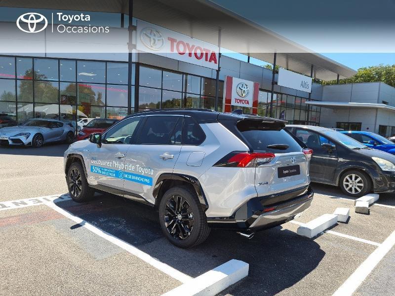 Photo 2 de l'offre de TOYOTA RAV4 Hybride 218ch Collection 2WD MY21 à 44325€ chez Altis - Toyota Lorient