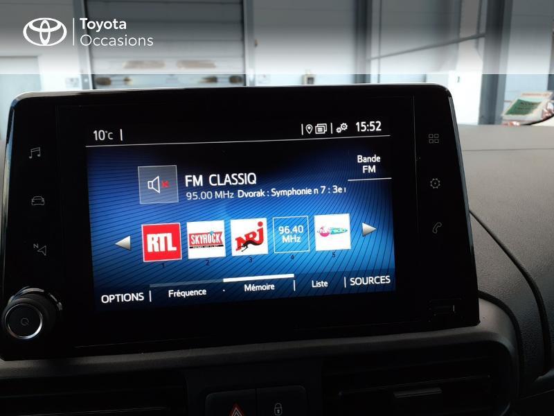 Photo 15 de l'offre de TOYOTA ProAce City Medium 100 D-4D Business à 17990€ chez Altis - Toyota Lorient