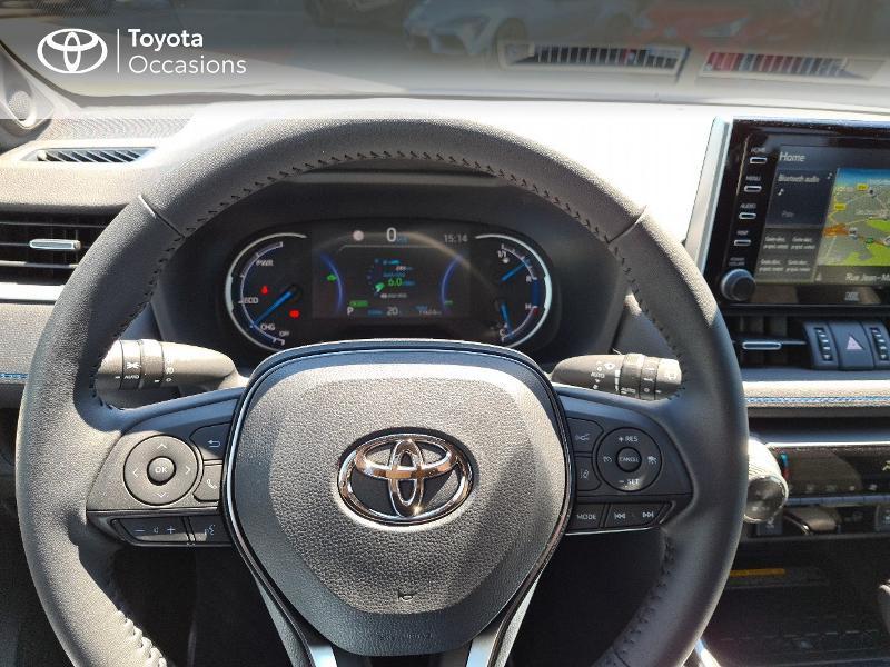 Photo 9 de l'offre de TOYOTA RAV4 Hybride 218ch Collection 2WD MY21 à 44325€ chez Altis - Toyota Lorient