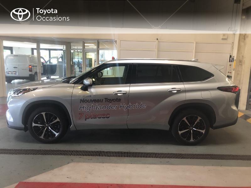 Photo 3 de l'offre de TOYOTA Highlander Hybrid 248ch Lounge AWD-I à 58990€ chez Altis - Toyota Lorient
