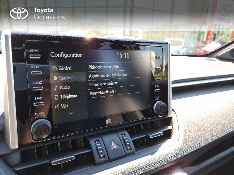 Photo 18 de l'offre de TOYOTA RAV4 Hybride 218ch Collection 2WD MY21 à 44325€ chez Altis - Toyota Lorient