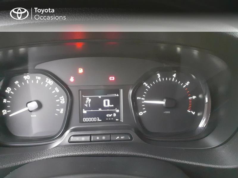 Photo 14 de l'offre de TOYOTA PROACE Compact 1.5 D-4D 100 Dynamic MY20 à 22490€ chez Altis - Toyota Lorient