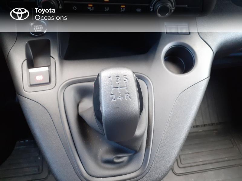 Photo 23 de l'offre de TOYOTA ProAce City Medium 100 D-4D Business à 17990€ chez Altis - Toyota Lorient