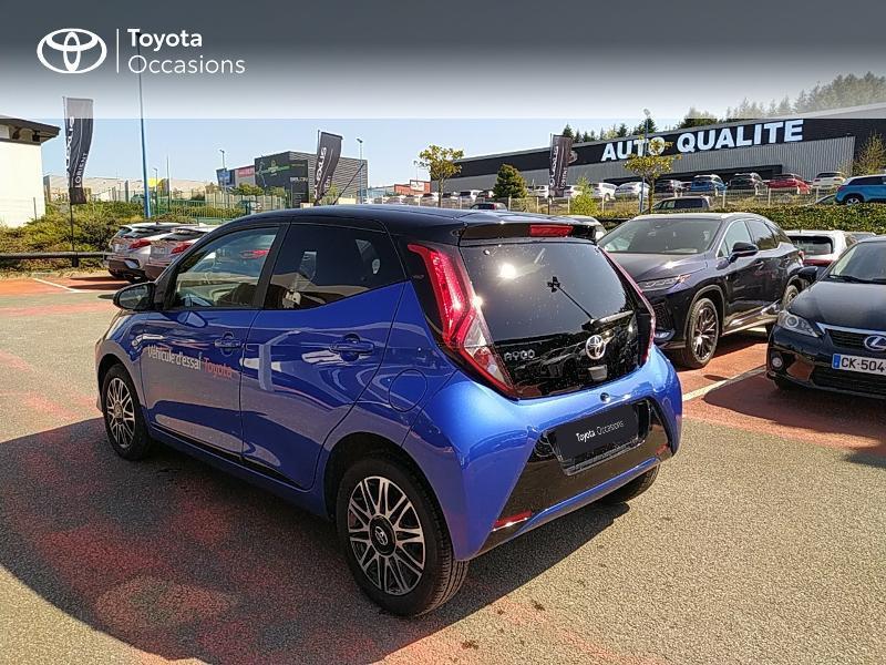 Photo 2 de l'offre de TOYOTA Aygo 1.0 VVT-i 72ch x-clusiv 5p MY20 à 11990€ chez Altis - Toyota Lorient