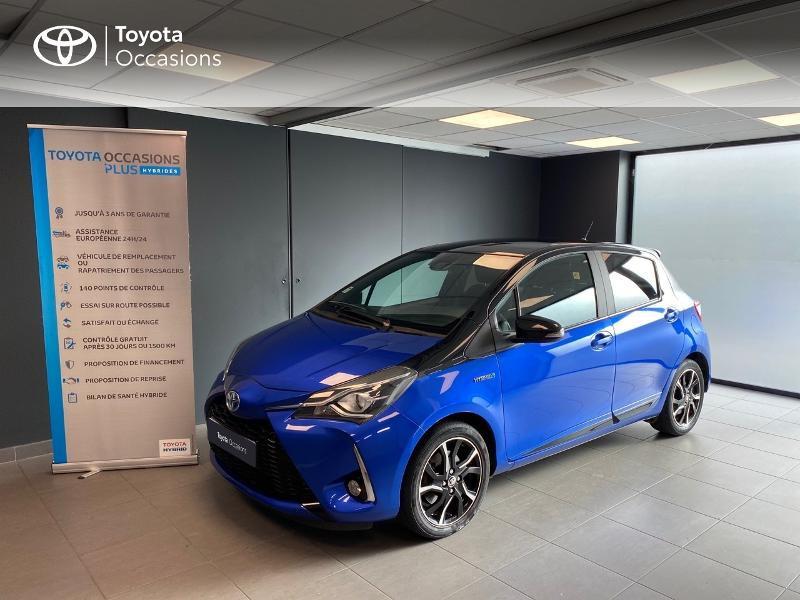 Photo 1 de l'offre de TOYOTA Yaris 100h Collection 5p à 12980€ chez Altis - Toyota Lorient