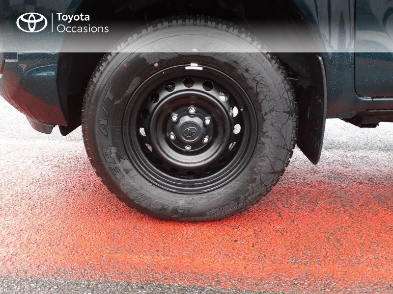 Photo 16 de l'offre de TOYOTA Hilux 2.4 D-4D X-Tra Cabine LeCap 4WD MC20 à 30222€ chez Altis - Toyota Lorient