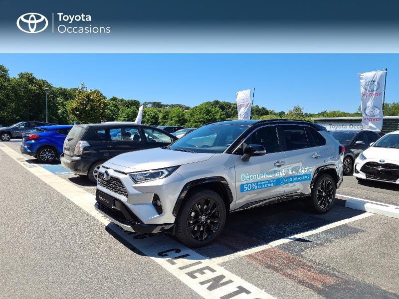 Photo 1 de l'offre de TOYOTA RAV4 Hybride 218ch Collection 2WD MY21 à 44325€ chez Altis - Toyota Lorient