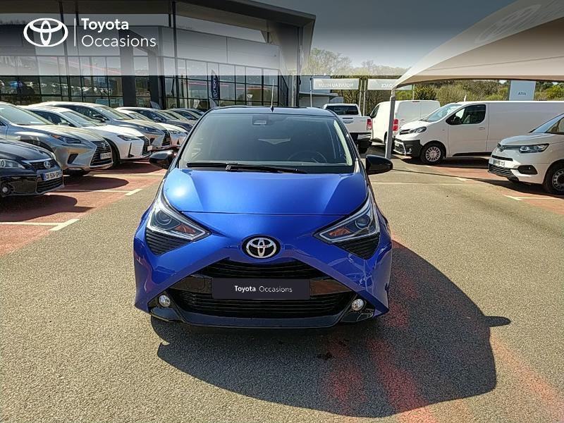 Photo 5 de l'offre de TOYOTA Aygo 1.0 VVT-i 72ch x-clusiv 5p MY20 à 11990€ chez Altis - Toyota Lorient