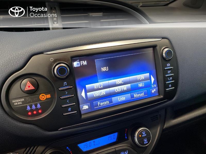 Photo 9 de l'offre de TOYOTA Yaris 100h Collection 5p à 12980€ chez Altis - Toyota Lorient