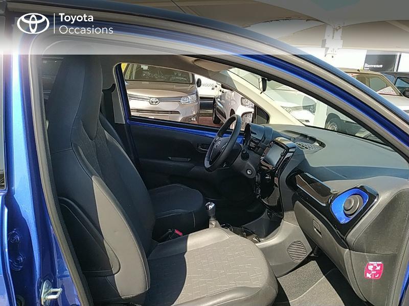 Photo 6 de l'offre de TOYOTA Aygo 1.0 VVT-i 72ch x-clusiv 5p MY20 à 11990€ chez Altis - Toyota Lorient