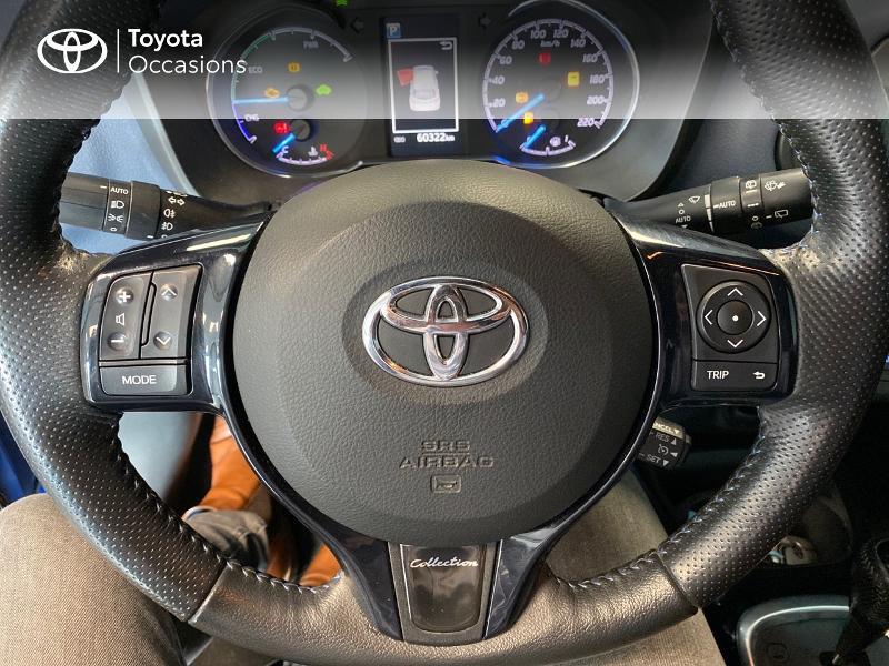 Photo 19 de l'offre de TOYOTA Yaris 100h Collection 5p à 12980€ chez Altis - Toyota Lorient