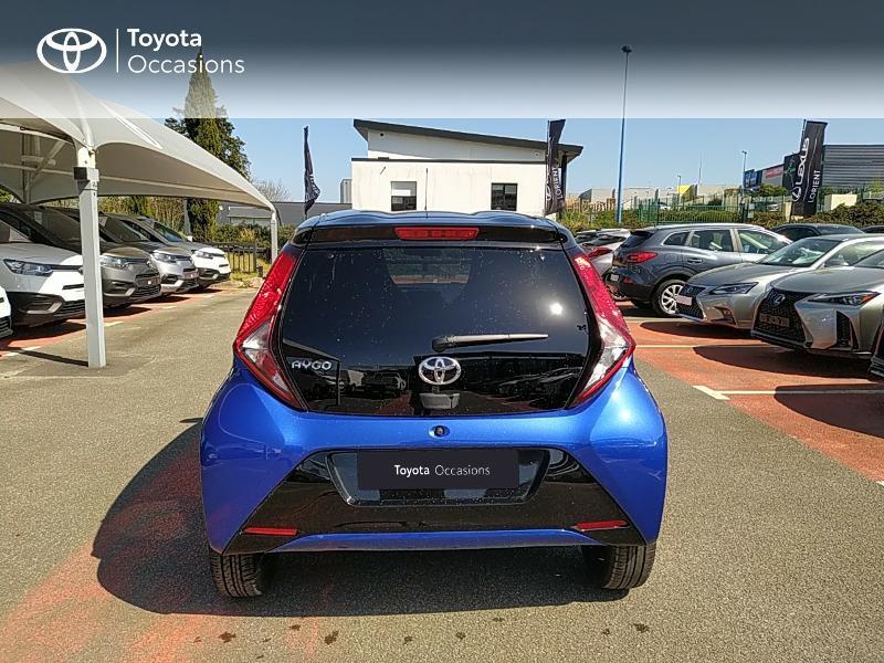 Photo 4 de l'offre de TOYOTA Aygo 1.0 VVT-i 72ch x-clusiv 5p MY20 à 11990€ chez Altis - Toyota Lorient