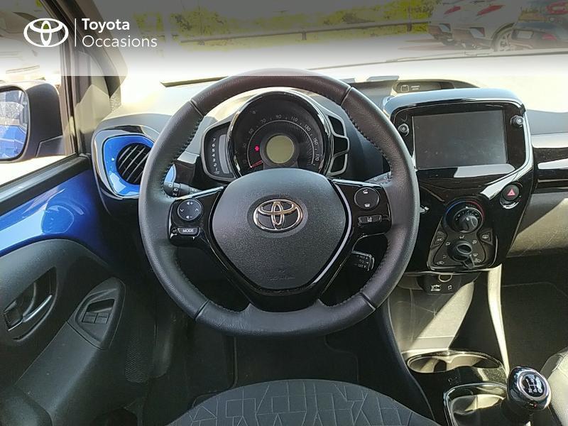 Photo 13 de l'offre de TOYOTA Aygo 1.0 VVT-i 72ch x-clusiv 5p MY20 à 11990€ chez Altis - Toyota Lorient
