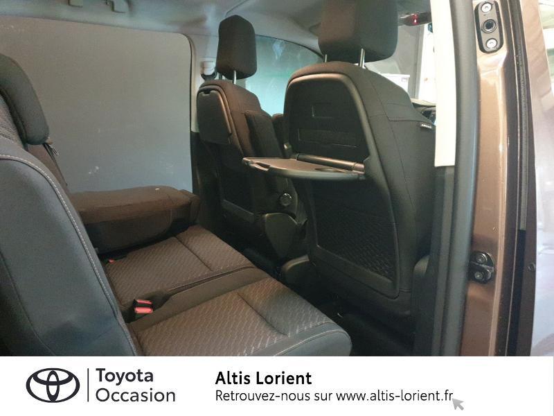 Photo 6 de l'offre de TOYOTA ProAce Verso Medium 2.0 120 D-4D Executive BVA MY20 à 41990€ chez Altis - Toyota Lorient