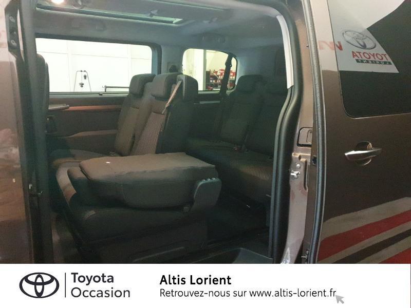 Photo 7 de l'offre de TOYOTA ProAce Verso Medium 2.0 120 D-4D Executive BVA MY20 à 41990€ chez Altis - Toyota Lorient