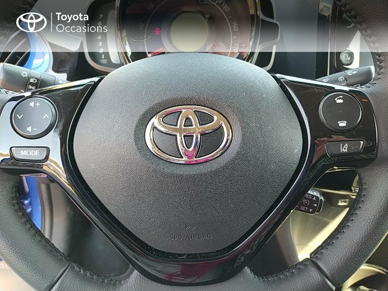 Photo 20 de l'offre de TOYOTA Aygo 1.0 VVT-i 72ch x-clusiv 5p MY20 à 11990€ chez Altis - Toyota Lorient