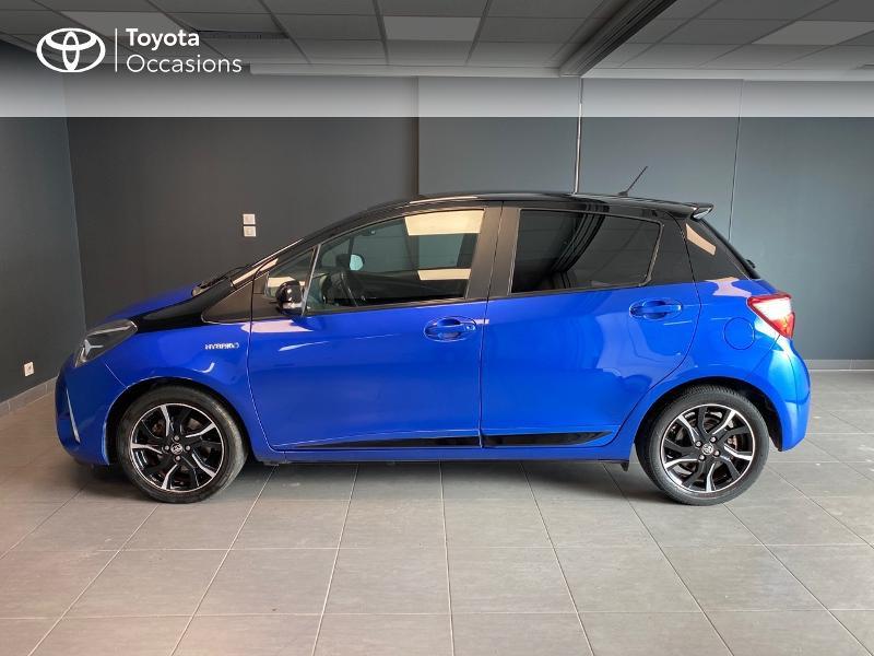 Photo 3 de l'offre de TOYOTA Yaris 100h Collection 5p à 12980€ chez Altis - Toyota Lorient