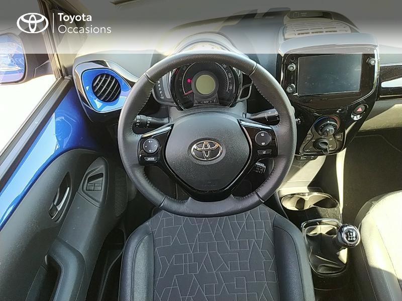 Photo 9 de l'offre de TOYOTA Aygo 1.0 VVT-i 72ch x-clusiv 5p MY20 à 11990€ chez Altis - Toyota Lorient