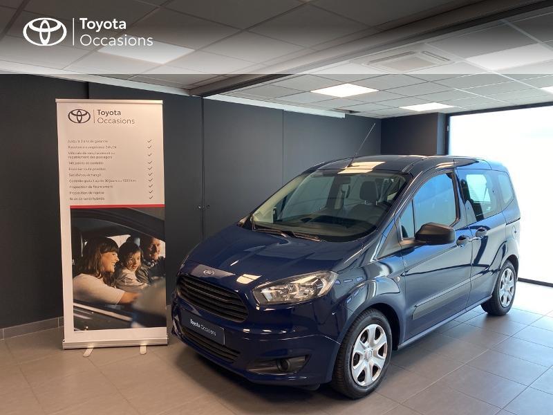 Ford Tourneo Courier 1.0E 100ch Ambiente Essence bleu Occasion à vendre