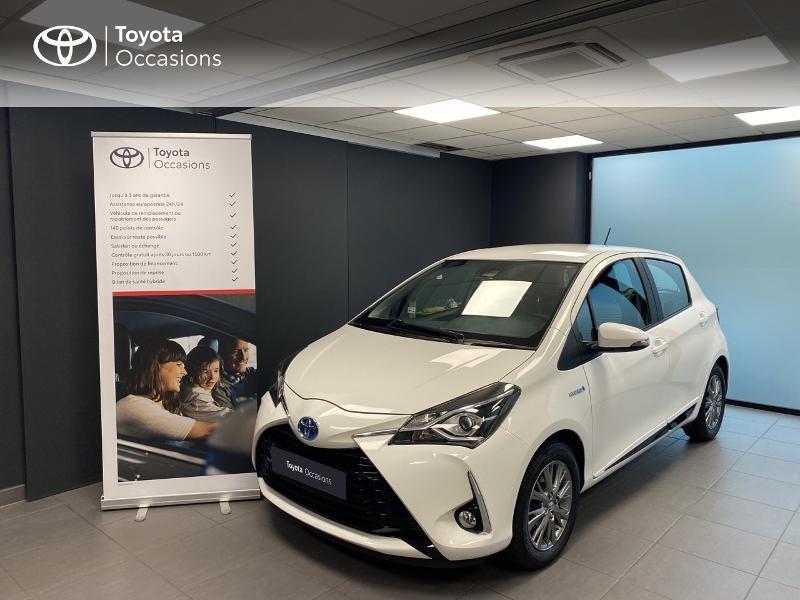 Toyota Yaris 100h Dynamic 5p RC18 Hybride BLANC PUR Occasion à vendre