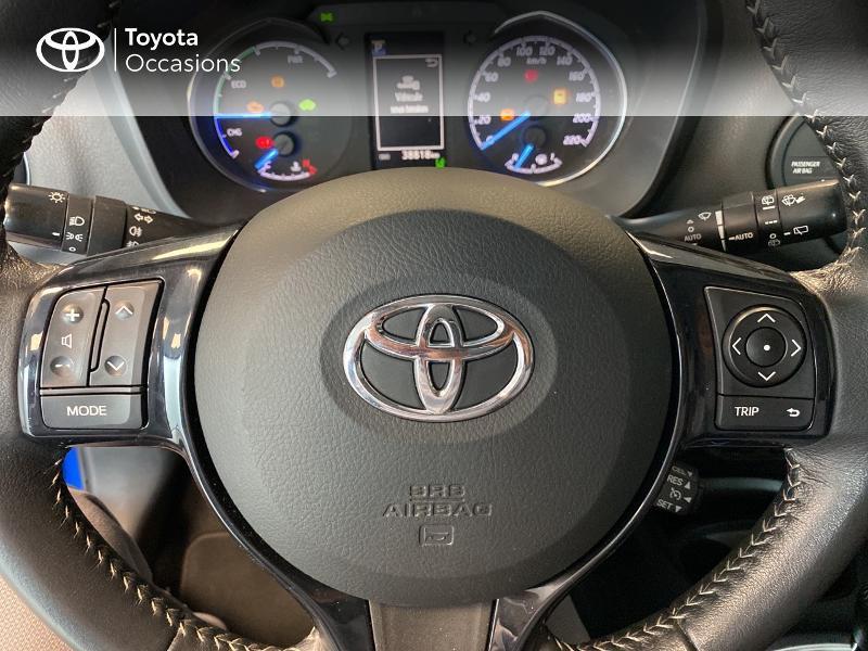 Photo 19 de l'offre de TOYOTA Yaris 100h Dynamic 5p RC18 à 13990€ chez Altis - Toyota Lorient