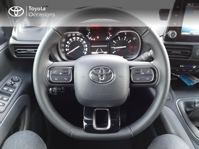 Photo 9 de l'offre de TOYOTA PROACE CITY Verso Medium 1.5 100 D-4D Design RC21 à 28590€ chez Altis - Toyota Lorient