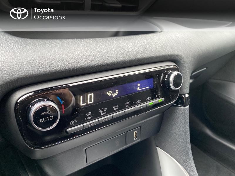 Photo 22 de l'offre de TOYOTA Yaris 116h Design 5p à 23000€ chez Altis - Toyota Lorient