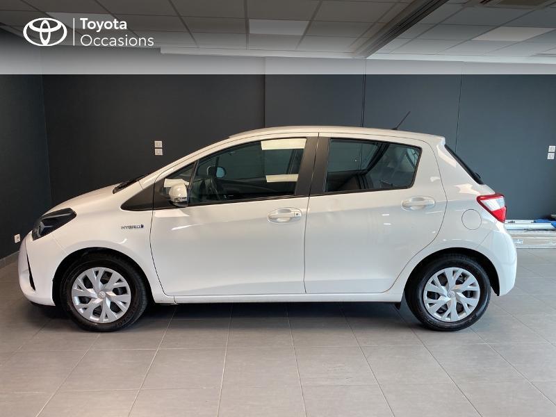 Photo 3 de l'offre de TOYOTA Yaris 100h France 5p à 13980€ chez Altis - Toyota Lorient