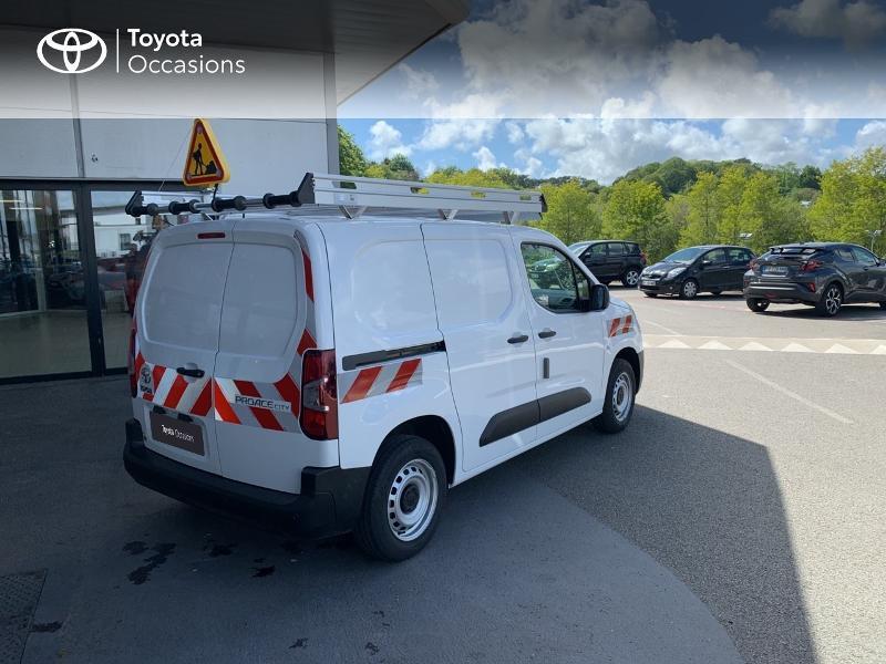 Photo 18 de l'offre de TOYOTA PROACE CITY Medium 75 D-4D Dynamic RC21 à 19990€ chez Altis - Toyota Lorient