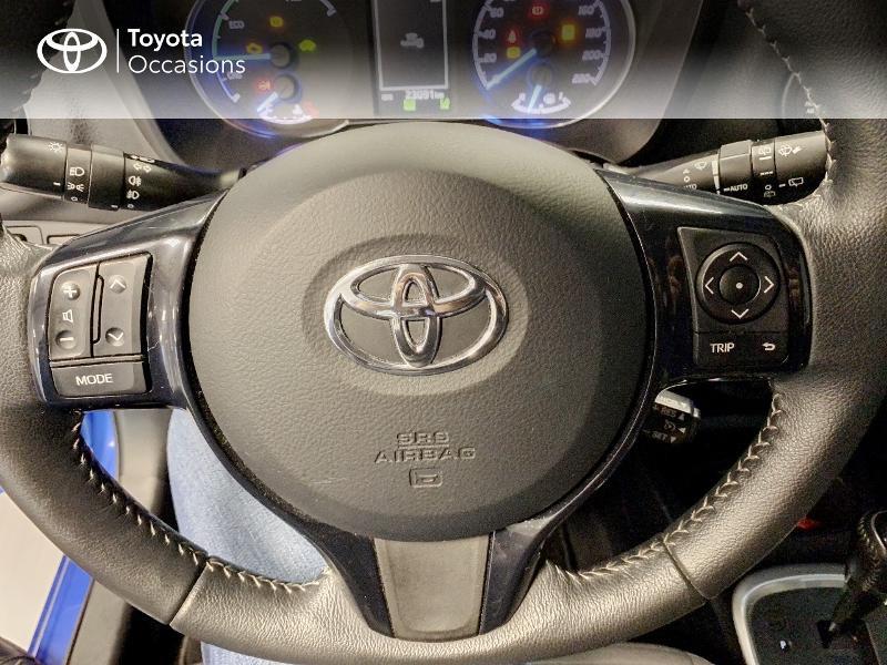Photo 12 de l'offre de TOYOTA Yaris 100h Dynamic 5p à 12980€ chez Altis - Toyota Lorient