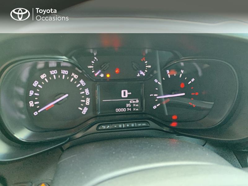 Photo 14 de l'offre de TOYOTA PROACE CITY Medium 75 D-4D Dynamic RC21 à 19990€ chez Altis - Toyota Lorient
