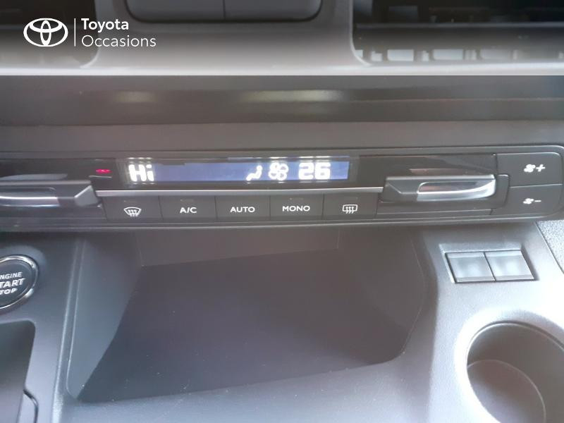 Photo 22 de l'offre de TOYOTA PROACE CITY Verso Medium 1.5 100 D-4D Design RC21 à 28590€ chez Altis - Toyota Lorient
