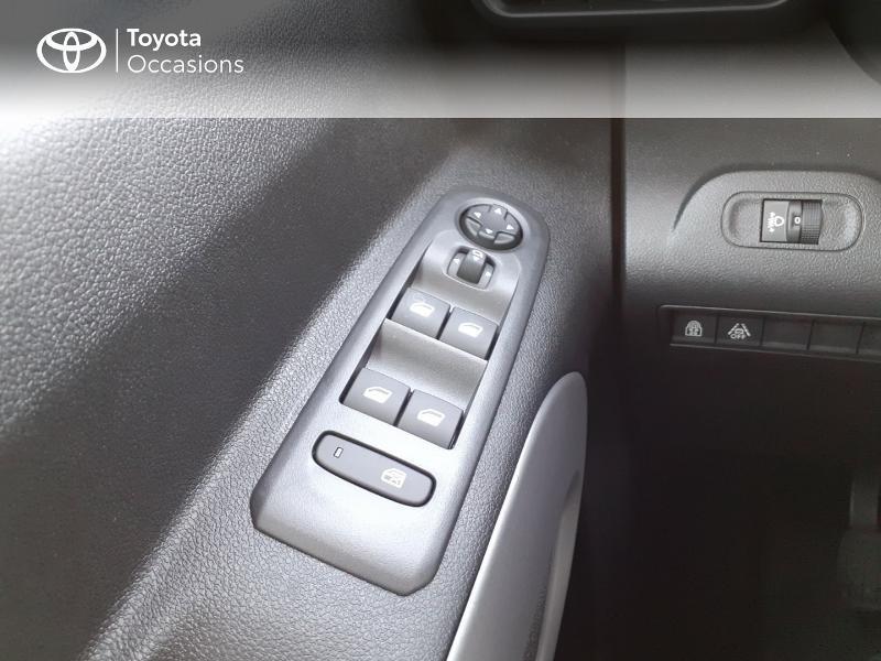Photo 21 de l'offre de TOYOTA PROACE CITY Verso Medium 1.5 100 D-4D Design à 28190€ chez Altis - Toyota Lorient