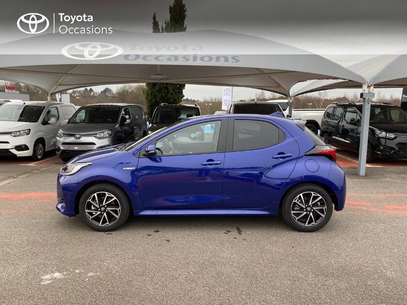 Photo 3 de l'offre de TOYOTA Yaris 116h Design 5p à 23000€ chez Altis - Toyota Lorient