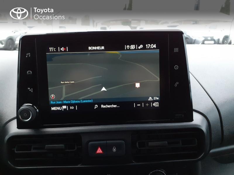 Photo 15 de l'offre de TOYOTA PROACE CITY Long 130 D-4D Business RC21 à 24590€ chez Altis - Toyota Lorient