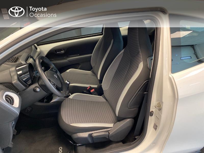 Photo 7 de l'offre de TOYOTA Aygo 1.0 VVT-i 72ch x-play 3p à 9990€ chez Altis - Toyota Lorient