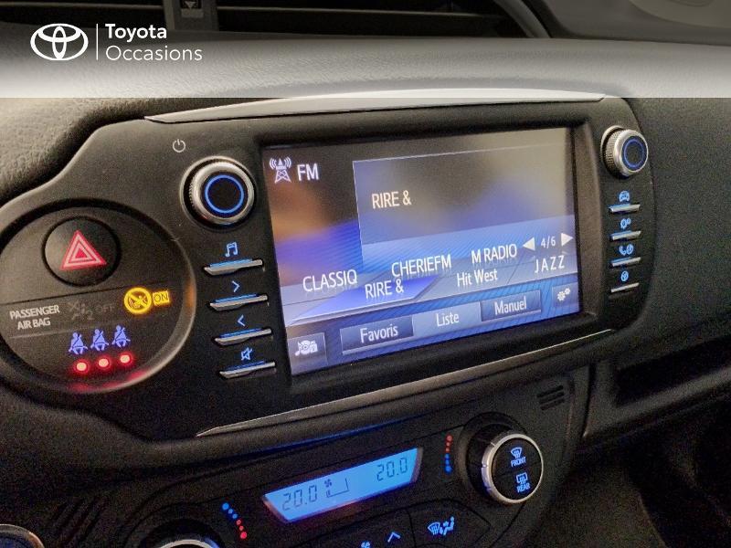 Photo 7 de l'offre de TOYOTA Yaris 100h Dynamic 5p à 12980€ chez Altis - Toyota Lorient