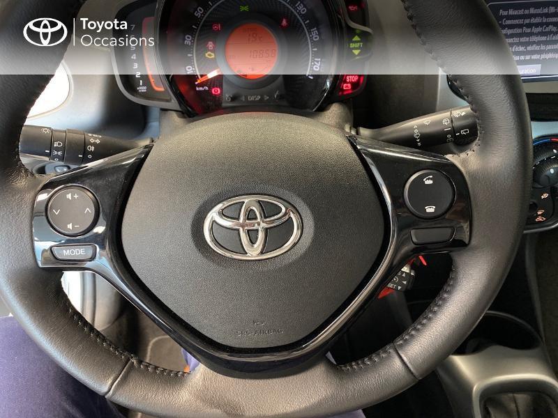 Photo 19 de l'offre de TOYOTA Aygo 1.0 VVT-i 72ch x-play 3p à 9990€ chez Altis - Toyota Lorient