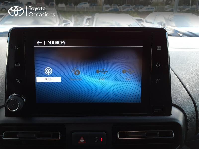 Photo 15 de l'offre de TOYOTA PROACE CITY Verso Medium 1.5 100 D-4D Design RC21 à 28590€ chez Altis - Toyota Lorient