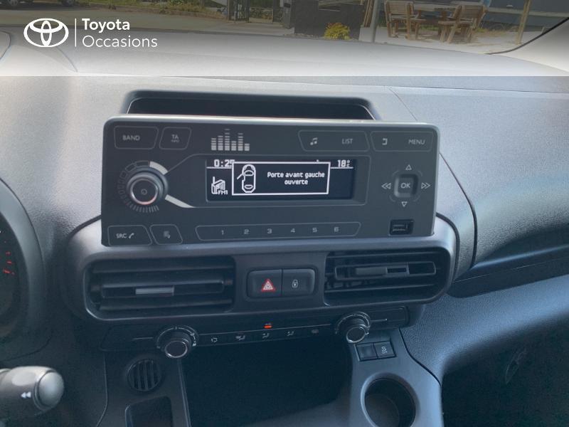 Photo 15 de l'offre de TOYOTA PROACE CITY Medium 75 D-4D Dynamic RC21 à 19990€ chez Altis - Toyota Lorient