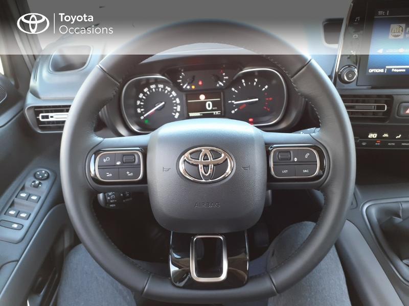 Photo 9 de l'offre de TOYOTA PROACE CITY Verso Medium 1.5 100 D-4D Design à 28190€ chez Altis - Toyota Lorient