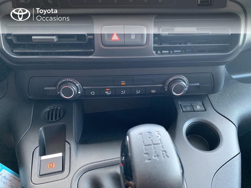Photo 22 de l'offre de TOYOTA PROACE CITY Medium 75 D-4D Dynamic RC21 à 19990€ chez Altis - Toyota Lorient